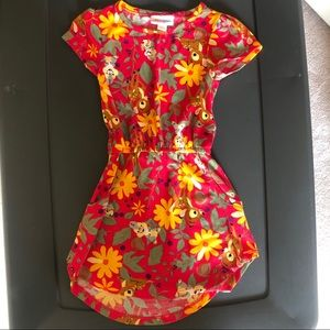 Disney LuLaRoe Bambi/Thumper Mae Dress